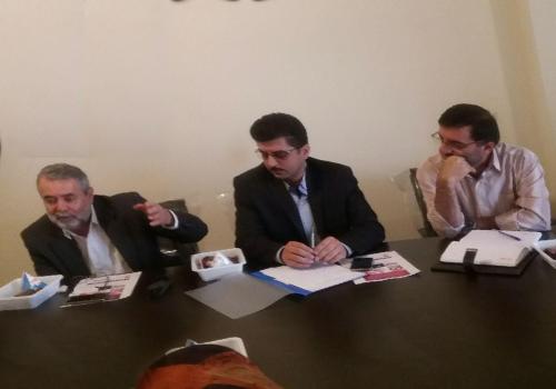 جلسه حوزه مشارکت های اجتماعی دانشگاه علوم پزشکی با اعضای انجمن  حمایت از بیماران اتیسم برگزار شد.