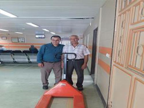 اهدا 50 میلیون ریال به بیمارستان امام خمینی (ره) مهاباد