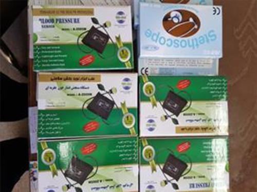 اهدای تعداد ده دستگاه فشار سنج به بیمارستان شهدا توسط خیّر تکابی