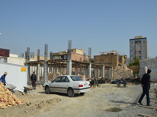 احداث مرکز جامع سلامت شهری حضرت پور