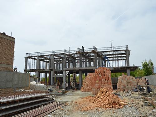 احداث مرکز جامع سلامت روستایی قولنجی